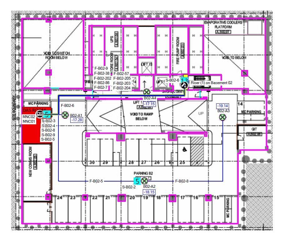 DAS Room, DAS Room – Distributed Antenna System Equipment